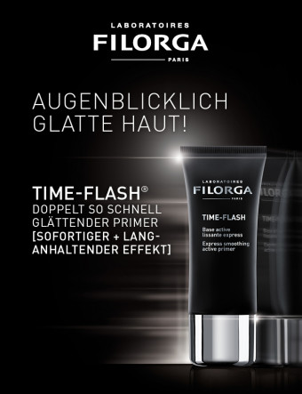 Filorga - Time-Flash - Photoshop aus der Tube