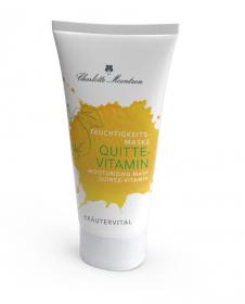 Kräutervital Quitte-Vitamin Feuchtigkeitsmaske