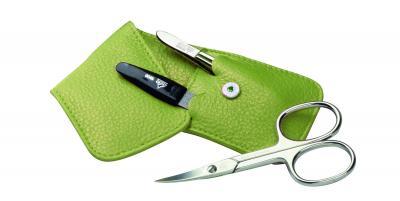 ERBE Manicure-Taschenetui Grün 3tlg.