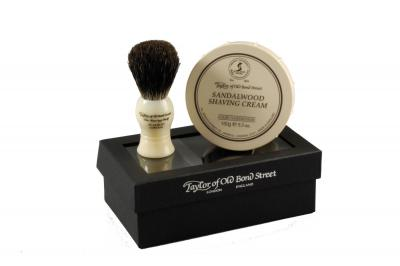Taylor Sandalwood Gift Box Pure Badger
