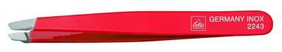 ERBE Pinzette schräg rot 9,5cm